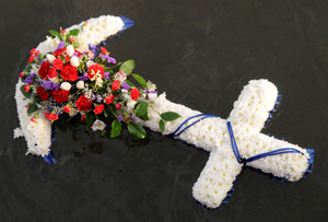 The Wreath Laid In Memory of Those Lost