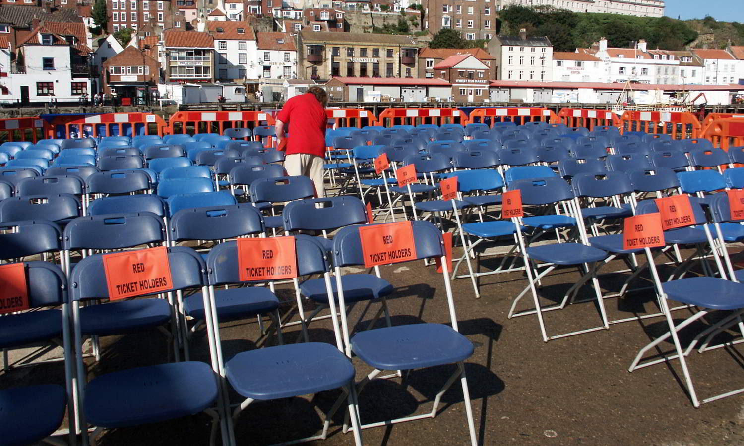 Setting Out The Seating