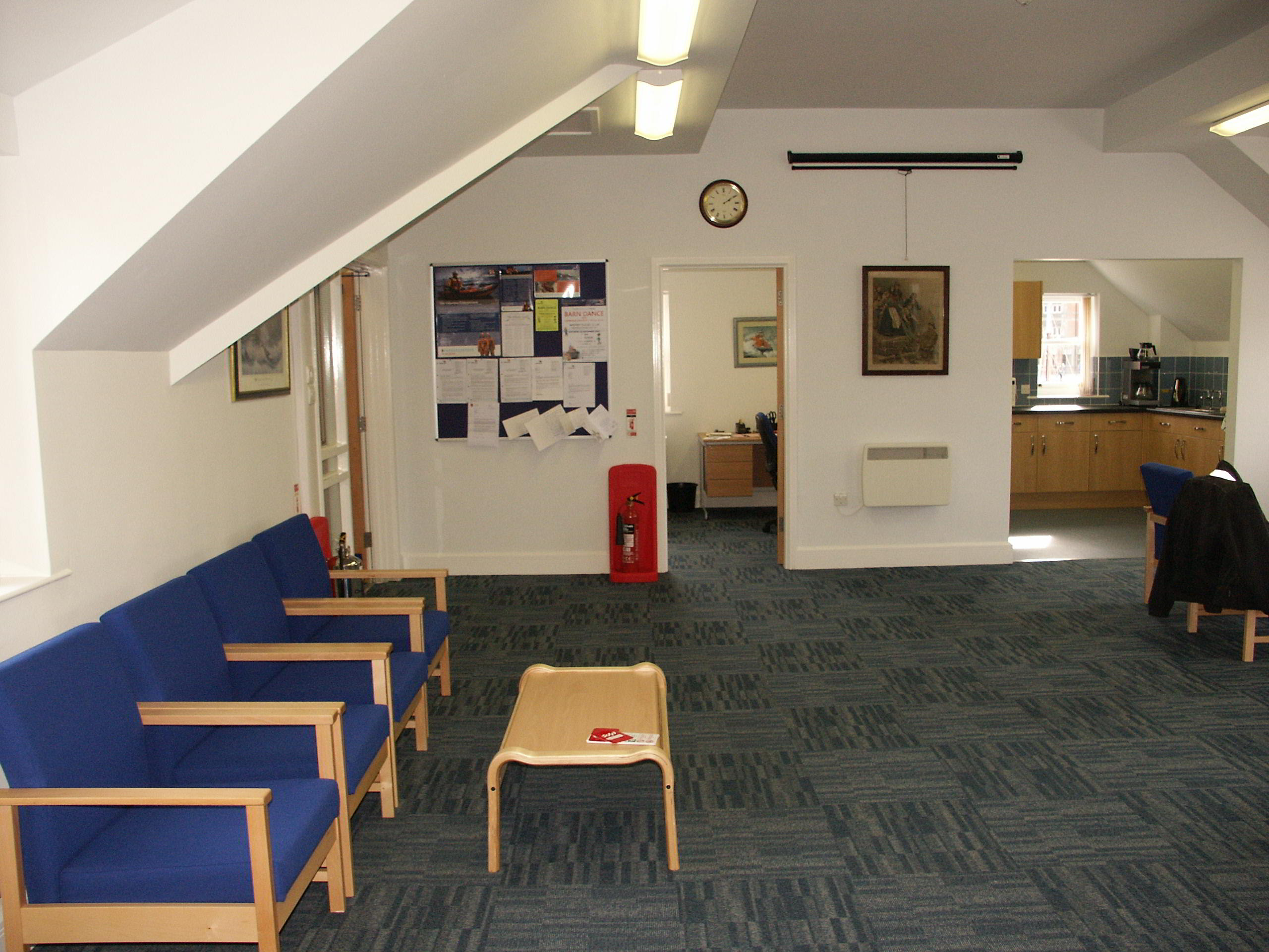 The Welcome Area